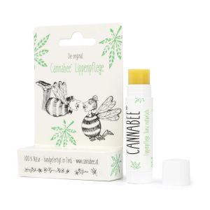Lippenpflege mit Hanföl - Cannabee