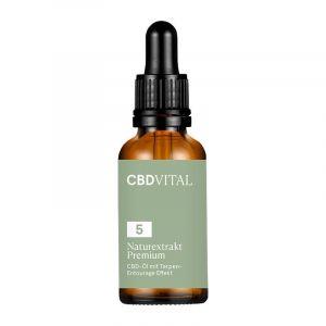 CBD Vital Naturextrakt PREMIUM Öl 5%