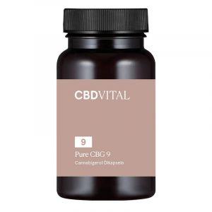 CBD Vital Pure CBG 9 Kapseln 5%