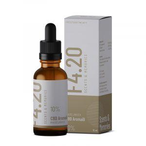 CBD Öl 10% mit Haselnuss Aroma