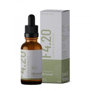 CBD Öl 10% mit Zitronengras Aroma