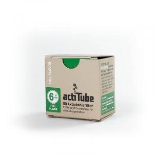 actiTube EXTRA SLIM Aktivkohlefilter 6mm