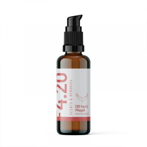 CBD Haut- & Pflegeöl Rosengeranie